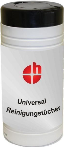 Universal Feuchtreinigungstücher, 100 Stück