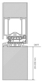 Modultherm/ Verbreiterung unten für Haustüraktion KOBBE