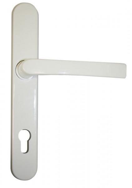 Haustürdrücker außen aus Aluminium